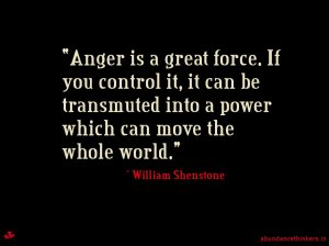 Anger can be a gift